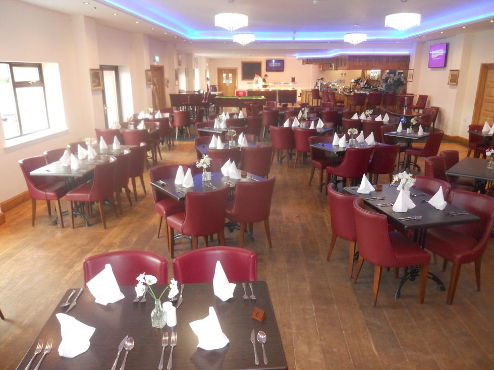 Restaurant at Riverside Camping and Caravan Park and Country Club, South Molton