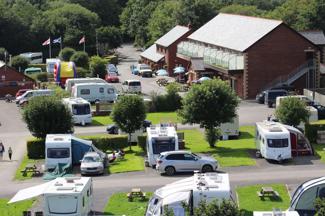 Riverside Caravan and Camping Park, South Molton