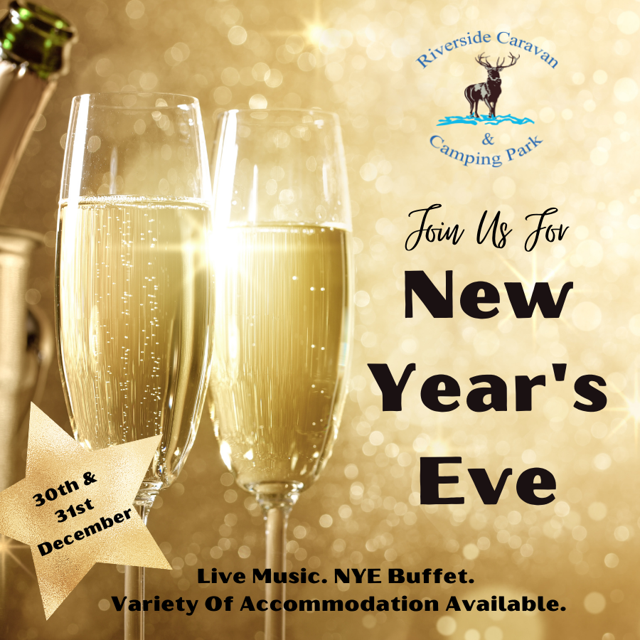 News Years eve event at Exmoor Riverside Campsite