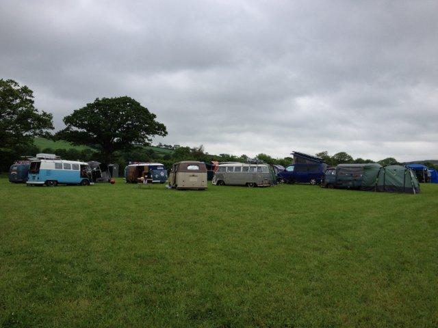Rally Field at Riverside Camping & Caravan Park, South Molton