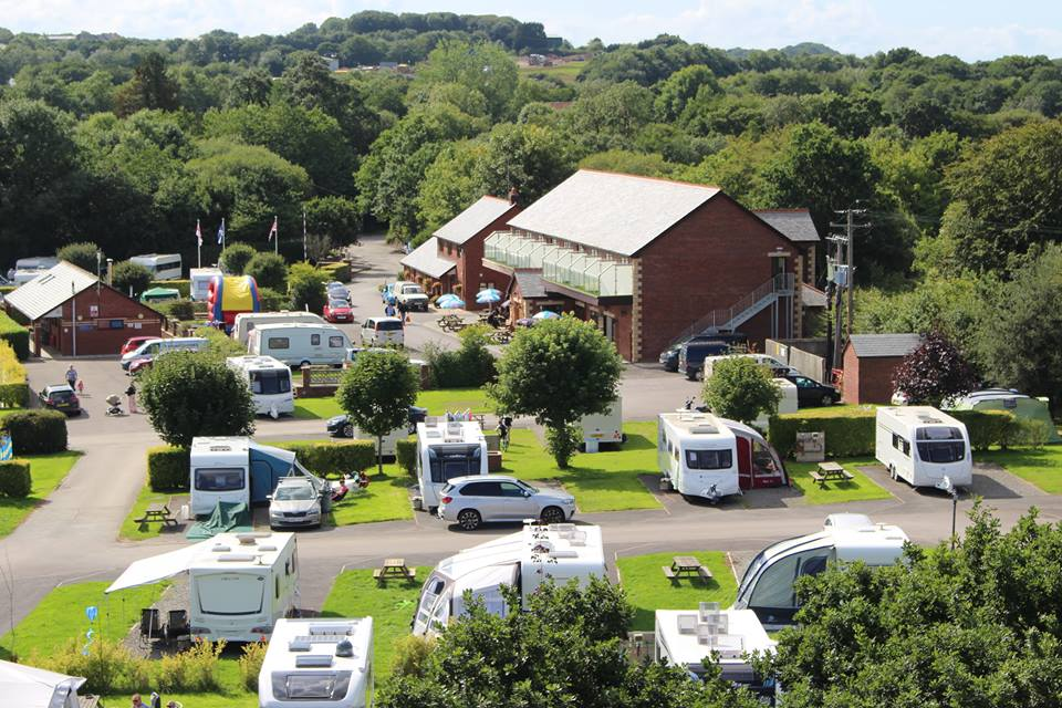 Riverside Camping and Caravan Park, South Molton